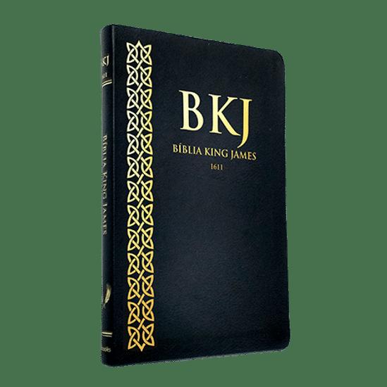 Bíblia King James 1611 (Ultrafina - Preta)