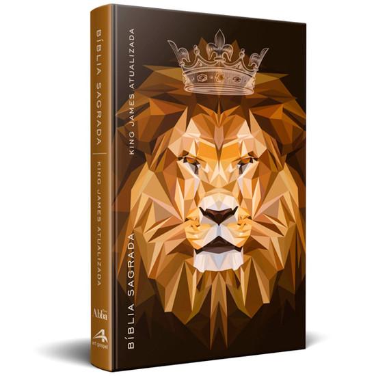 Bíblia King James - Atualizada (Leão Marrom)