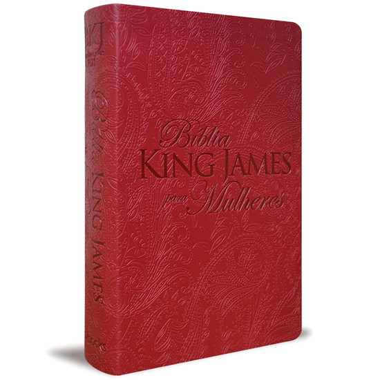Bíblia King James Para Mulheres (Vermelho)