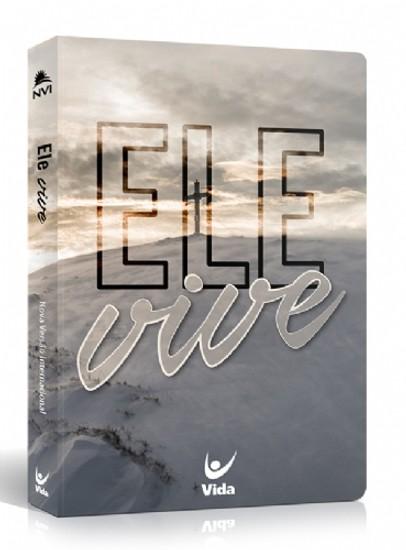 Bíblia NVI - Semi Luxo - Ele Vive