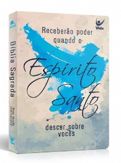 Bíblia NVI - Semi Luxo - Espírito Santo