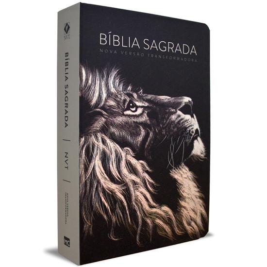 Bíblia NVT Letra Grande - Lion Head