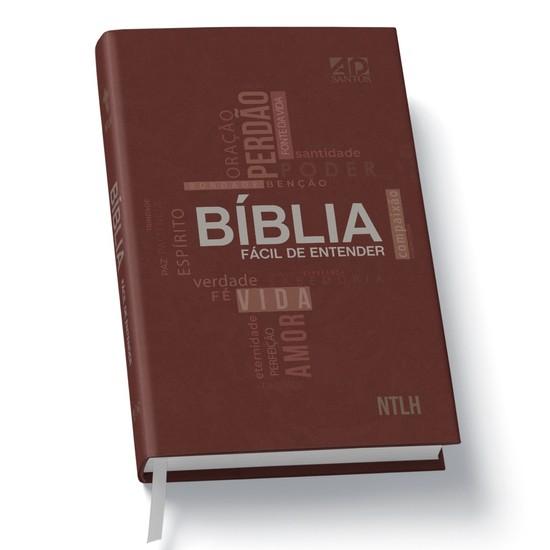 Bíblia Sagrada Fácil de Entender (Capa Cruz )