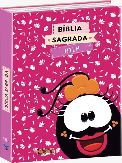 Bíblia Sagrada - Faniquita (Rosa Brochura)