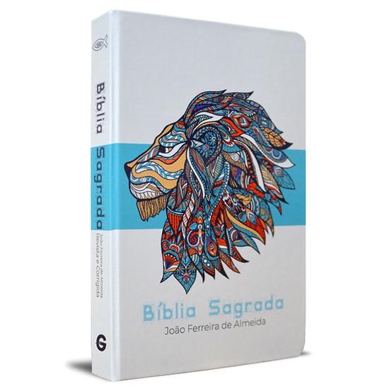 Bíblia Sagrada RC Grande (Leão Azul)