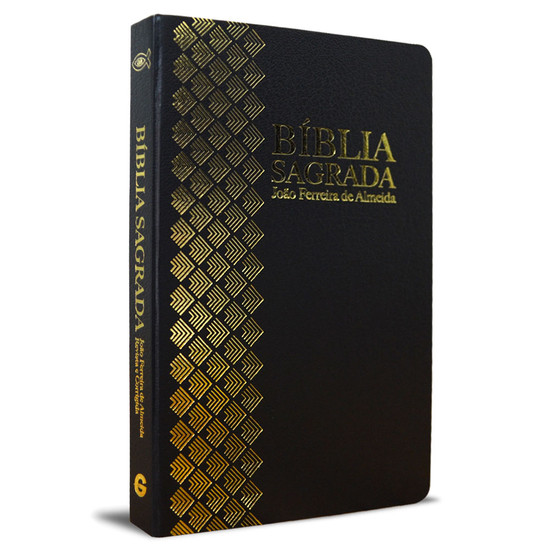 Bíblia Sagrada RC Grande (Preta e dourada)