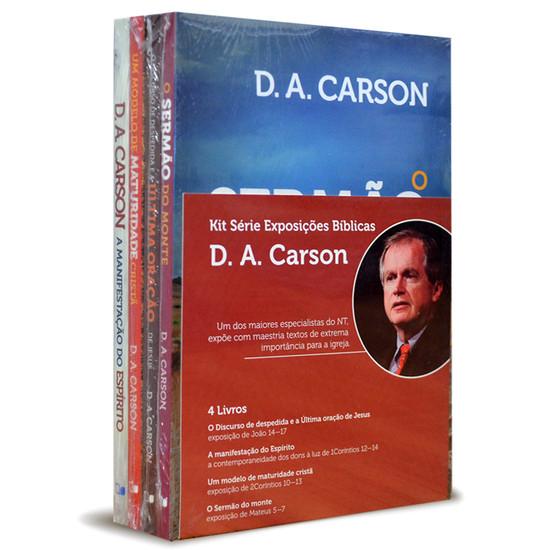 Combo - Série Exposições Bíblicas (4 Livros) - D.A Carson