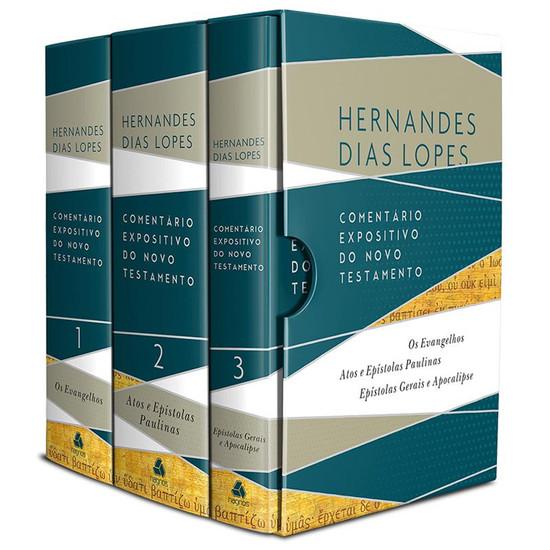 Box Comentário Expositivo do Novo Testamento - Hernandes Dias Lopes