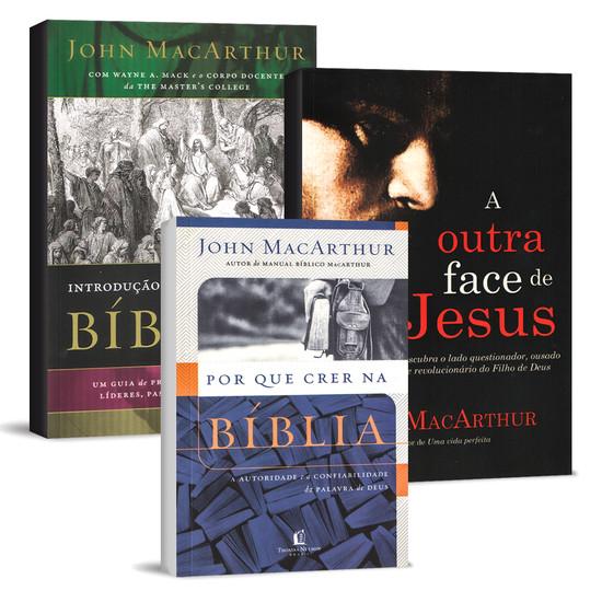 Combo 3 Livros - John MacArthur