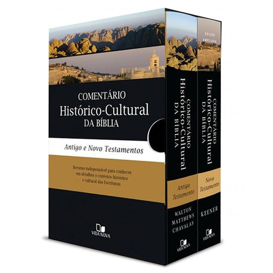Box Comentário Histórico-cultural da Bíblia (AT e NT)