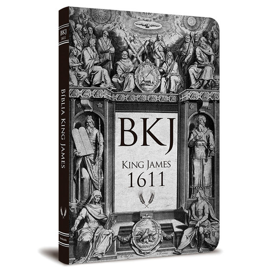BKJ 1611 Ultra Fina - Lettering ­Bible (Retrô)