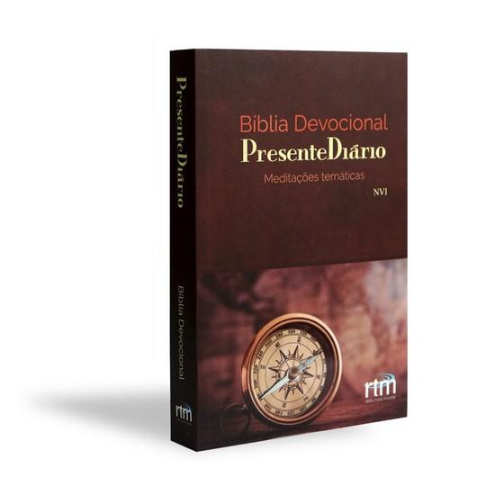 Bíblia Devocional Presente Diário - Capa Bússola