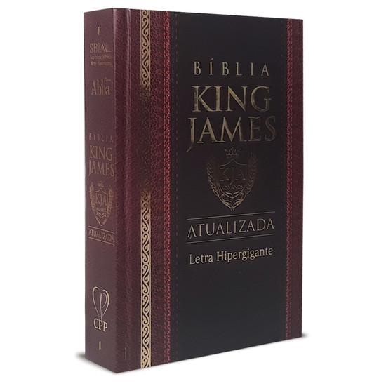 Bíblia King James - Hiper Gigante - Capa Dura