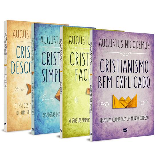 Coleção Cristianismo Fácil - 4 Livros - Augustus Nicodemus