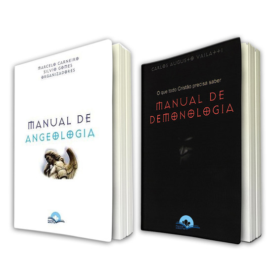 Combo 2 Livros - Manual de Demonologia e Angeologia