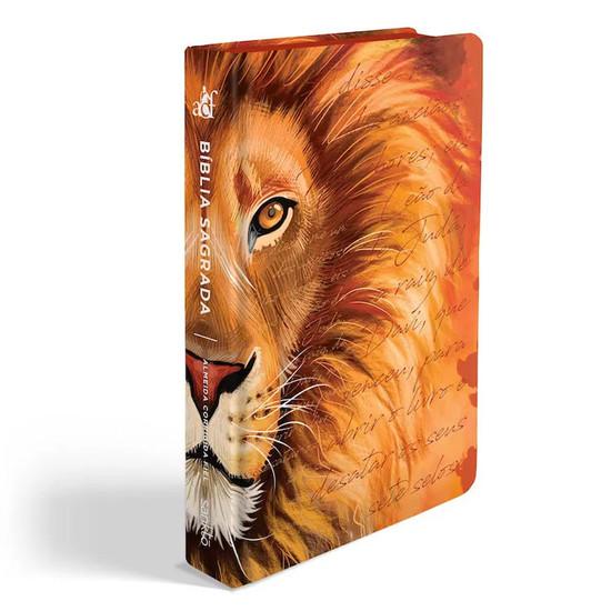 Bíblia ACF Leão Laranja - Letra Grande