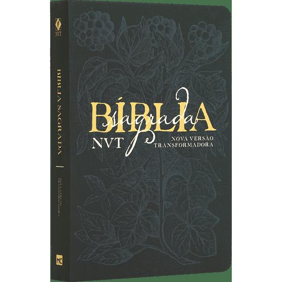 Bíblia NVT Letra Grande - Éden Azul