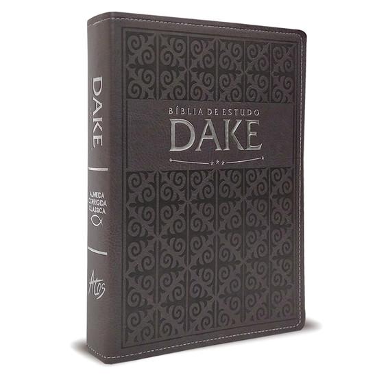 Bíblia de Estudo Dake (Cinza)