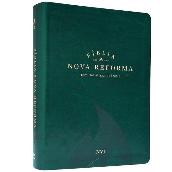 Bíblia Nova Reforma - NVI - Luxo Verde