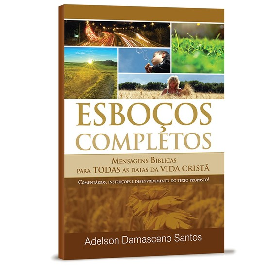 Esboços Completos - Adelson Damasceno Santos
