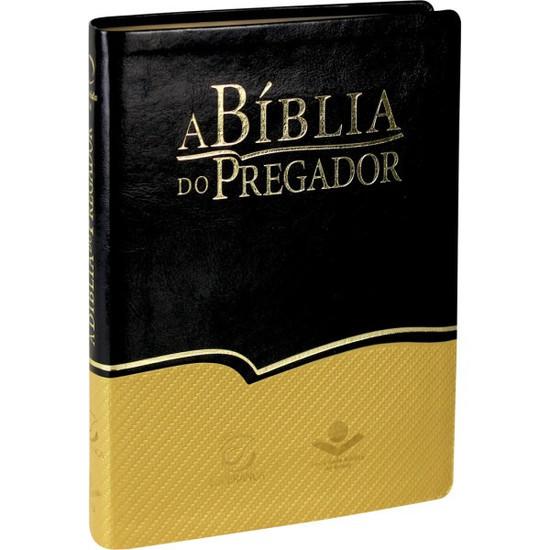 A Bíblia do Pregador (Grande | Preto e Dourado)