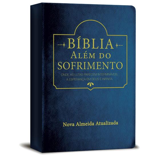 Bíblia Além do Sofrimento Azul