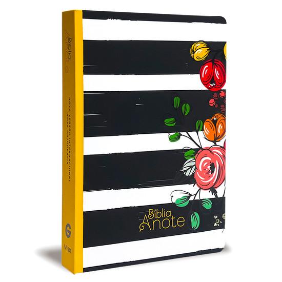 Bíblia NVI - Com Espaço Para Anotações (Flores)
