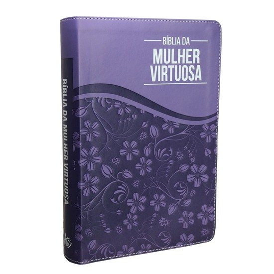 Bíblia da Mulher Virtuosa - Purple