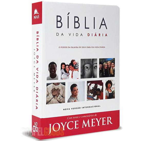 Bíblia da Vida Diária (com notas e comentários de Joyce Meyer) - NVI