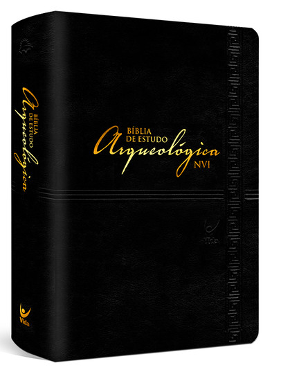 Bíblia de Estudo Arqueológica NVI (Luxo Preta)