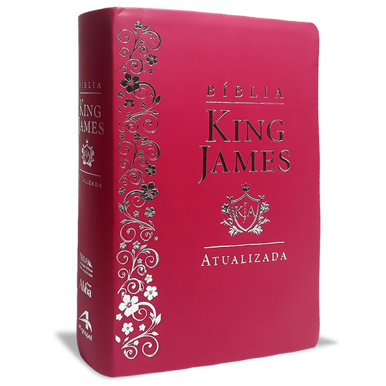 Bíblia de Estudo King James Atualizada - KJA (Pink)