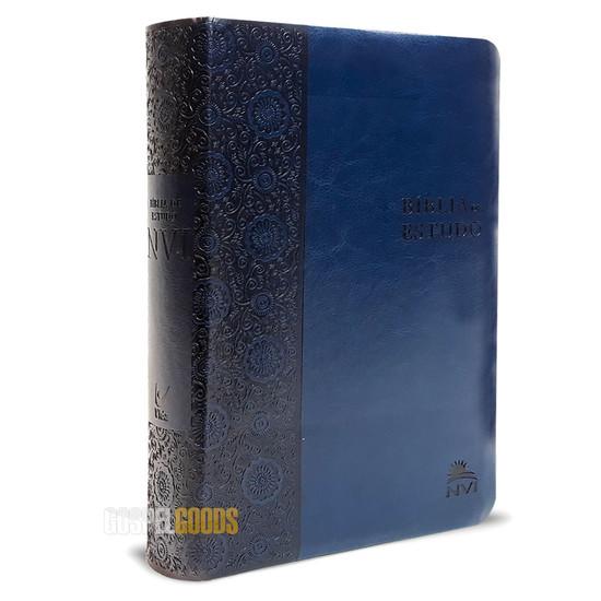 Bíblia de Estudo NVI (Azul)