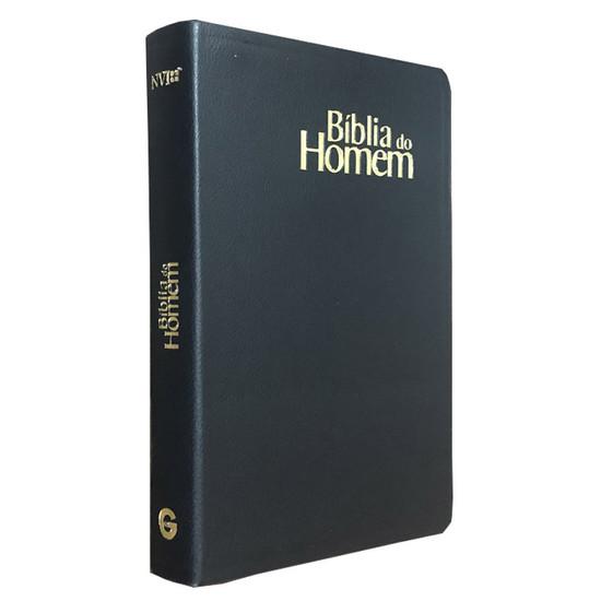 Bíblia do Homem (Capa Luxo Preta)