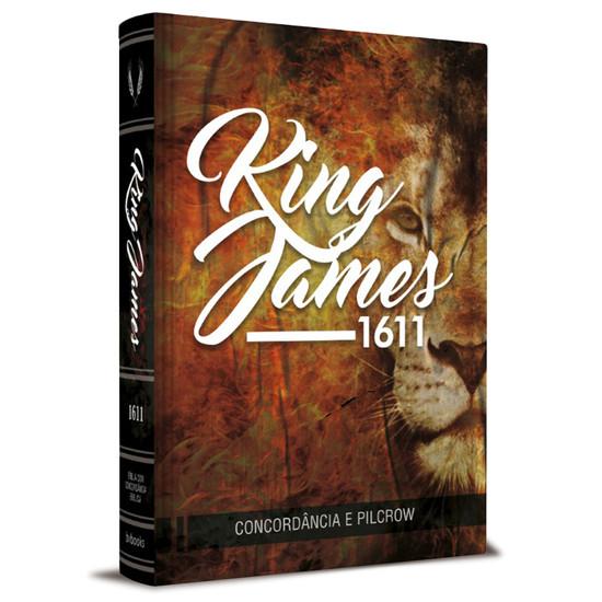 Bíblia King James 1611 Com Concordância (Capa Leão)