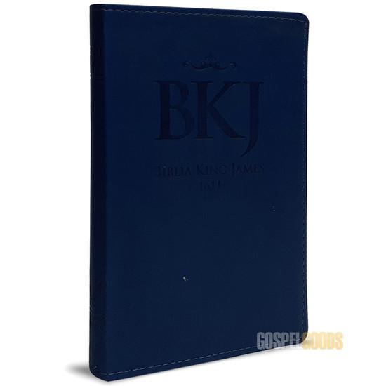Bíblia King James 1611 (Slim - Azul)