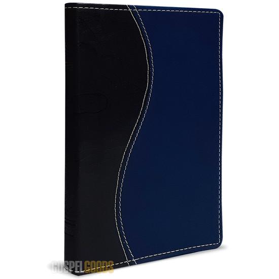 Bíblia King James 1611 (Slim - Azul e Preta)