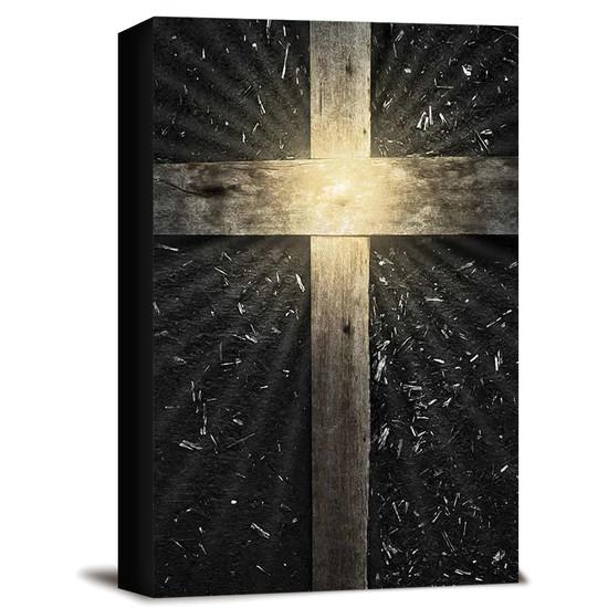 Bíblia NAA Cruz Madeira