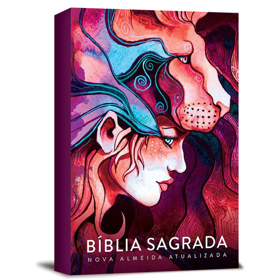 Bíblia NAA Leão Lion Girl