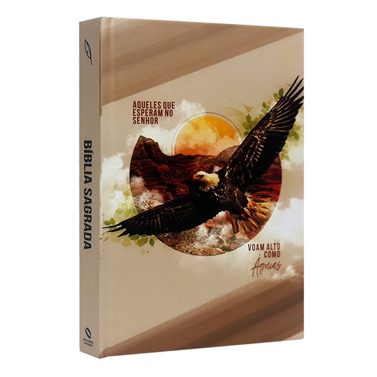 Bíblia NAA Letra Grande - Como Águia