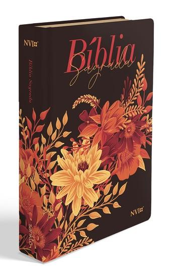 Bíblia NVI Buquê Preta - Letra Gigante