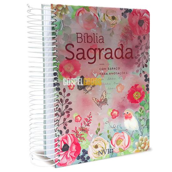Bíblia NVI - Com Espaço Para Anotações Espiral - Clássica  Virtuosa