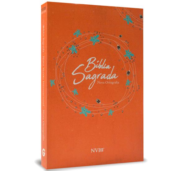 Bíblia NVI Grande (Brochura Laranja)