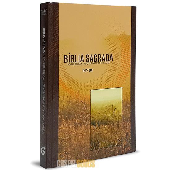 Bíblia NVI Grande (Brochura Neutra)