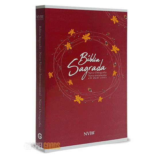 Bíblia NVI Grande (Brochura Vermelha)