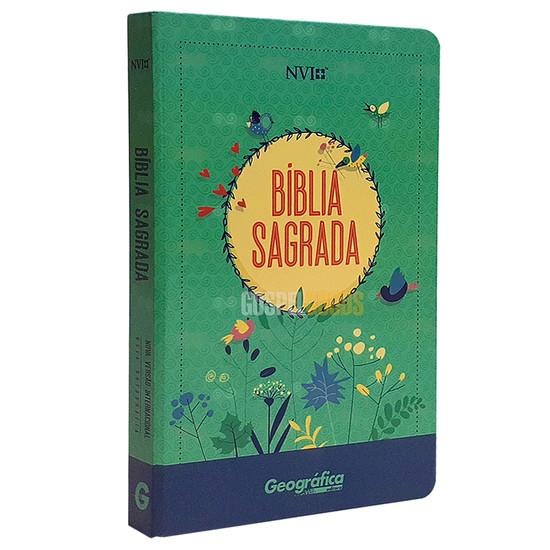 Bíblia NVI - Semi Luxo - Verde Água