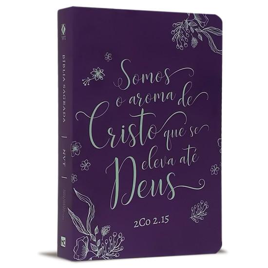 Bíblia NVT Letra Grande - Aroma Suave (Roxo)