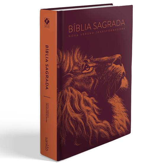 Bíblia NVT Letra Grande - Lion Head (Cobre)