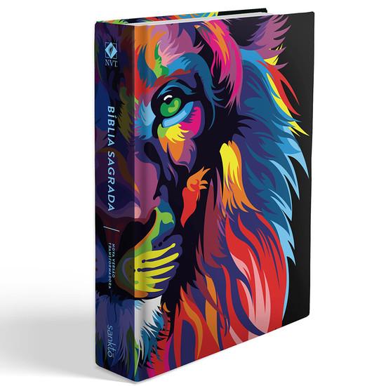 Bíblia NVT - Lion Color (Letra Grande)