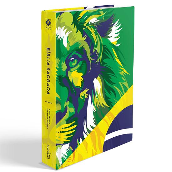 Bíblia NVT Lion Colors Brasil
