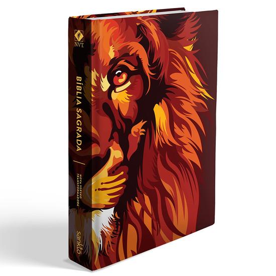 Bíblia NVT Lion Colors Fire